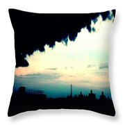 City Silhouette  Throw Pillow
