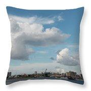 City Skyline, Manaus, Brazil Throw Pillow