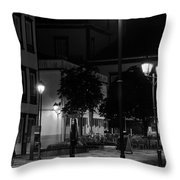 City Square  Throw Pillow