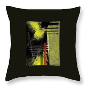 City Under The Pressures  Throw Pillow