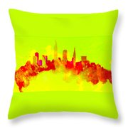 City Vibe Throw Pillow