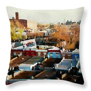 City View Six Throw Pillow