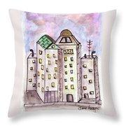 Cityscape 1 Throw Pillow