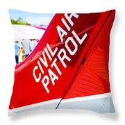 Civil Air Patrol Throw Pillow