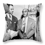 Civil Rights Activists Throw Pillow