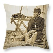Civil War 1 Throw Pillow