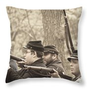 Civil War 3 Throw Pillow
