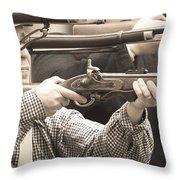 Civil War 4 Throw Pillow