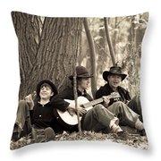 Civil War 6 Throw Pillow