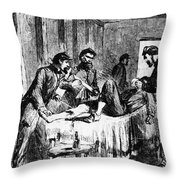 Civil War: Amputation Throw Pillow