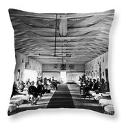 Civil War: Hospital, 1865 Throw Pillow