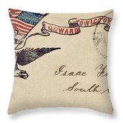 Civil War Letter 18 Throw Pillow