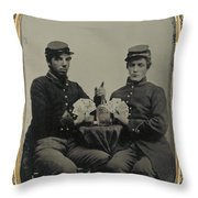Civil War Soldiers C1863 Throw Pillow