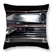 Civil War Surgical Kit Throw Pillow