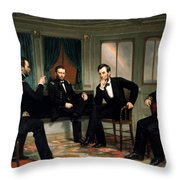 Civil War Union Leaders -- The Peacemakers Throw Pillow