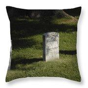 Civil War Unknown Dead Throw Pillow