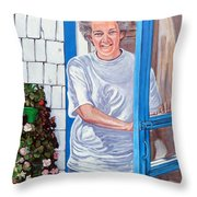 Claire Campbell Lewis Throw Pillow