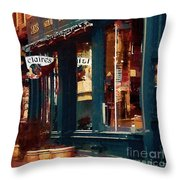 Claire's On College Street Throw Pillow