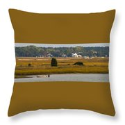 Clam Country Throw Pillow