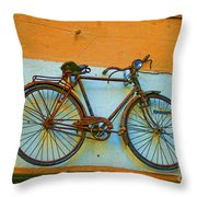 Clamped Throw Pillow