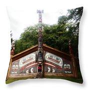 Clan House Throw Pillow