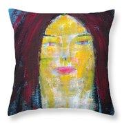 Clara Cleolinda Throw Pillow