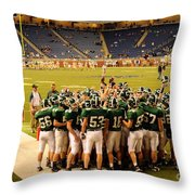 Clare Pioneers At Ford Field Throw Pillow