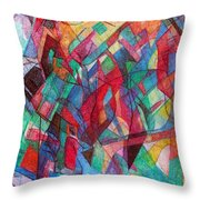Clarification 3 Throw Pillow