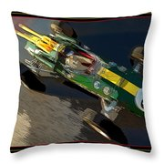 Indy Victory Throw Pillow