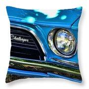 Classic 1974 Dodge Challenger Throw Pillow