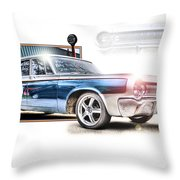 Classic '64 Dodge Oakland County Mi Throw Pillow
