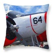 Classic Aircraft Throw Pillow