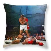 Classic Ali Throw Pillow