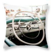 Classic Americana Throw Pillow