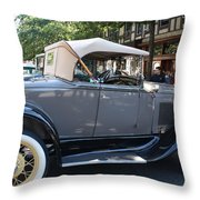 Classic Antique Car - Ford 1920s Throw Pillow