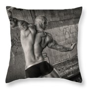 Classic Back Throw Pillow