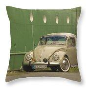 Classic Beetle 7 Throw Pillow
