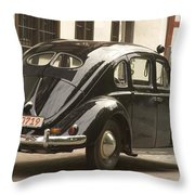 Classic Beetle  9 Throw Pillow