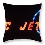 Classic Boeing Throw Pillow by Heidi Smith