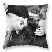 Classic Boudoir Throw Pillow