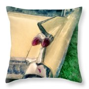 Classic Caddy Fins Throw Pillow