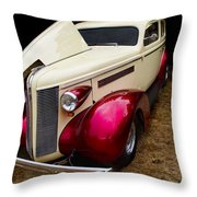 Classic Car - 1937 Buick Century Throw Pillow