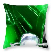 Classic Cars Beauty By Design 2 Throw Pillow