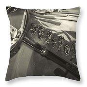 Classic Car Interior Throw Pillow