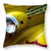 Classic Cars Beauty By Design 5 Throw Pillow
