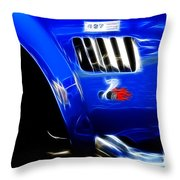 Classic Cars Beauty By Design 6 Throw Pillow