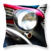 Classic Cars Beauty By Design 7 Throw Pillow