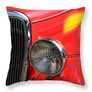 Classic Cars Beauty By Design 8 Throw Pillow