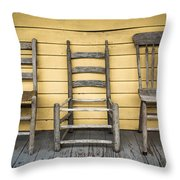 Classic Chairs Throw Pillow