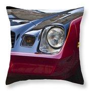 Classic Chevrolet Camaro Throw Pillow